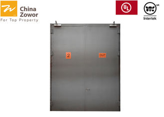 55 mm Thick Steel Insulated Fire Rated Door For Electrical Room,color choice available