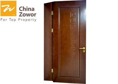 30/60 min Painting Finish Fire Resistant Wooden Door With Perlite Board Infilling