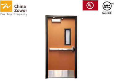 Single Swing Commercial Fire Rated Doors Solid Core Infilling BS UL Approved